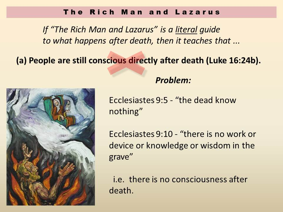 14 The Rich Man and Lazarus - Deity and Humanity